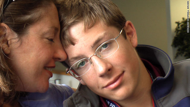 Mary Calhoun Brown and her son, William, think it is important to keep Asperger's syndrome as a diagnosis separate from autism.