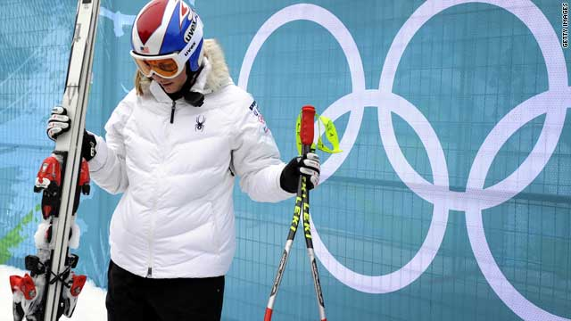 Skier Lindsey Vonn has said she used cheese on her leg to reduce inflammation.