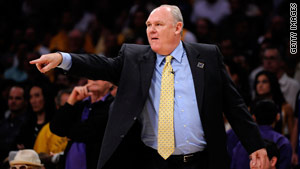 All-Star NBA coach George Karl announced he has a type of head and neck cancer this week.