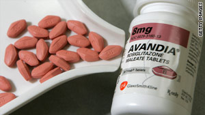 GlaxoSmithKline denies that its diabetes drug Avandia causes heart problems.