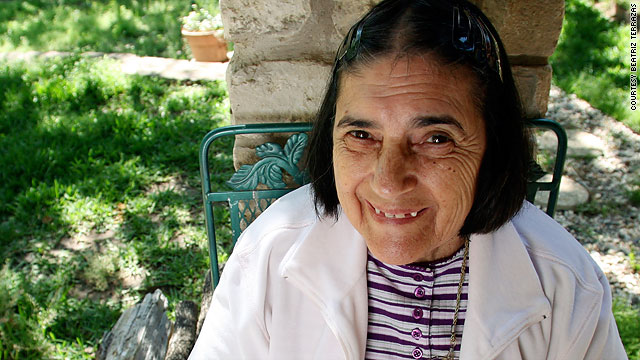 Francisca Terrazas of El Paso, Texas, has Alzheimer's disease and is the subject of her daughter's blog.