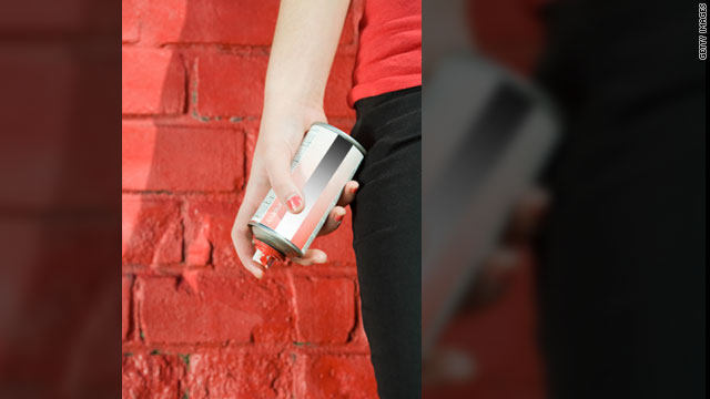 Some young people are inhaling a variety of cheap household products to get high including spray paint, shoe polish and glue.