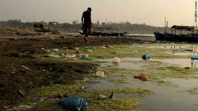 The Ganges is one of India's sacred rivers, but concern over pollution along the river's entire course is growing.