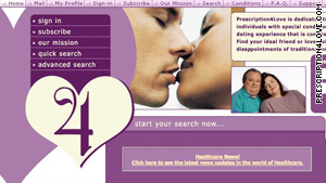 Prescription 4 Love is a dating site for people with special conditions.