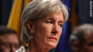 Kathleen Sebelius became health secretary days after the CDC reported a new flu strain last April.