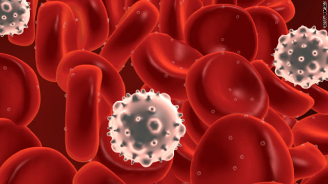 Cancer and white blood cells