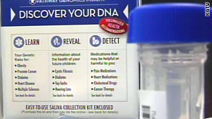Pathway Genomic's personal genetic test kits would've been the first to be sold in major, nationwide drug stores.