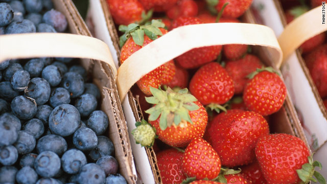 Detectable levels of pesticides are present in a large number of fruits and vegetables sold in the U.S., according to the U.S. Department of Agriculture.