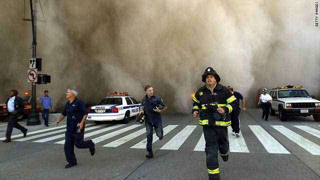 Even without personal connections, people can be stressed by major events like September 11, 2001.