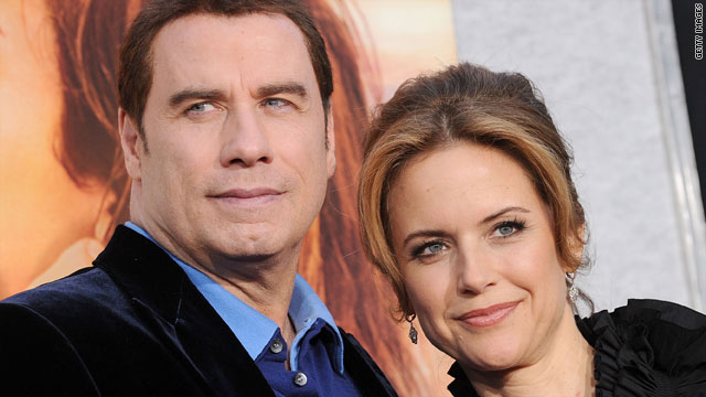 Kelly Preston, with husband John Travolta, is the latest celebrity to get pregnant in her late 40s.