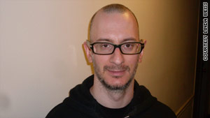 David Weiss, 38, has been going to psychoanalytic therapy for three years.