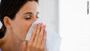 """Vasomotor rhinitis"" describes the cold-like symptoms that many people get not because of allergies or a cold."