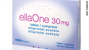 The five-day morning after pill has been available in Europe since 2009 under the brand name ellaOne.
