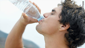 You should especially get in the habit of drinking a lot of water for heavy outdoor exercise.