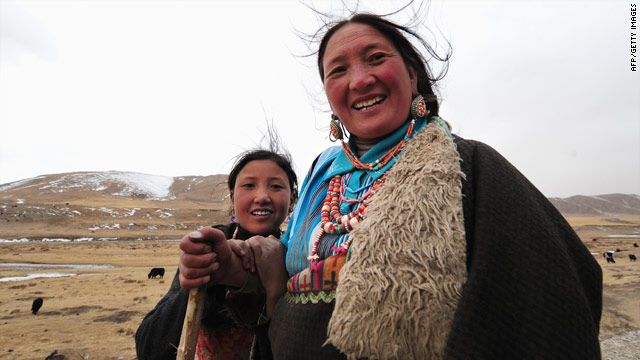 Tibetan herders: A study suggests Tibetans have evolved to live at high altitudes in less than 3,000 years.