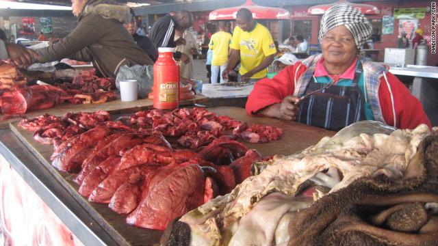 "Organ meats available in townships are higher in fat, but more affordable, creating ""food deserts"" in certain communities."
