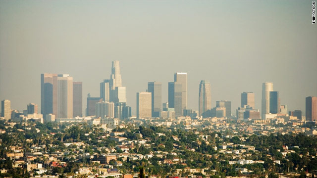 Los Angeles, California has the highest ozone levels in the country.