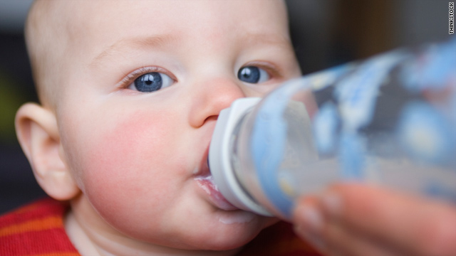 Age 9 months is a good time to start weaning babies off the bottle, says study author Dr. Jonathon Maguire.