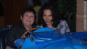 Lisa Greenberg of Scarsdale, New York, says her mother, on left, has had Alzheimer's symptoms since 2006.