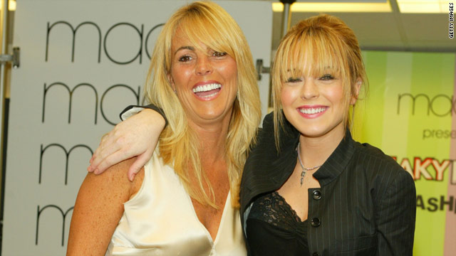 Lindsay Lohan, pictured with mother, Dina, recently entered jail for missing alcohol counseling sessions.