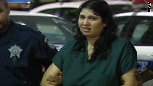 Saiqa Akhter, 30, told a 911 operator that she strangled her two children because they were autistic.