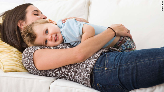 Babies who receive above-average levels of affection from their mothers are less likely to grow up to be emotionally distressed.