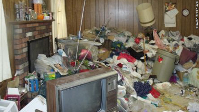 The hoarding at this El Paso, Texas, home became so bad that Adult Protective Services had to intervene.