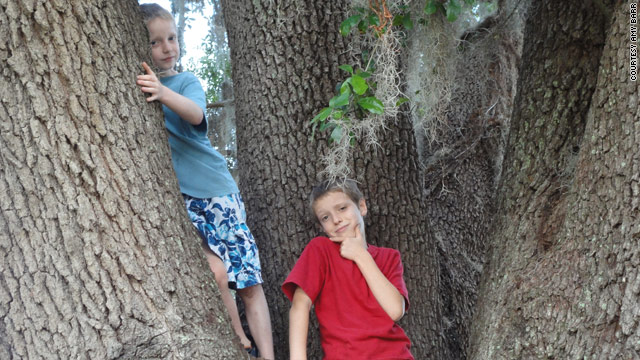 Aidan Barrier, 9, left, and Ian, 11, both have ADHD. They take medication to help them focus.