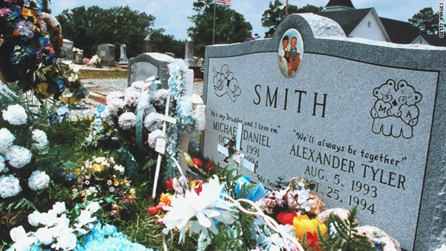 In 1994, the bodies of Susan Smith's two young sons were found strapped in their car seats in Smith's car.