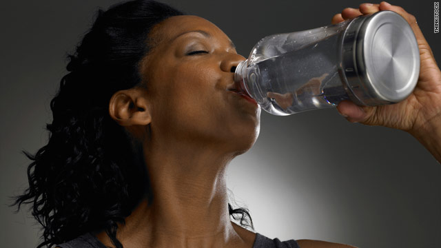 Researchers found that drinking two glasses of water before each meal may  help dieters lose weight and keep it off.