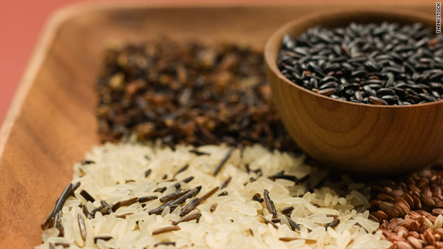 Black rice is full of the same antioxidants found in blueberries, grapes and acai.