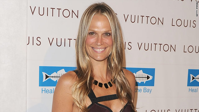 Molly Sims works out for an hour to an hour-and-a-half, five to six days a week.