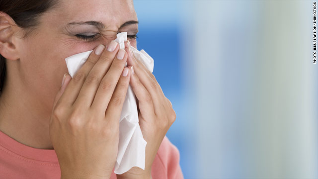 Prevent the spread of germs when you get sick. Throw away your used tissues immediately and stay home if possible.