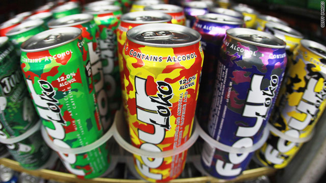 Leading brands like Four Loko mix as much as three cups of coffee with three cans of beer.