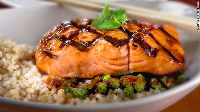 Our experts applauded P.F. Chang's for including brown rice -- a great source of fiber -- on their menu.