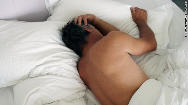 People who snore loudly, have difficulty falling asleep, or often wake up feeling tired may be at risk of developing heart disease.