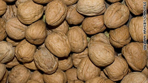 A California company is voluntarily recalling 60 packages of walnuts because they may be contaminated with salmonella.