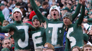 New York Jets fans, known for their rowdiness, won't be able to drink in stands Sunday when team plays Cincinnati.