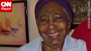 Augusta Thervil, 83, went missing after the earthquake struck Haiti. Her family heard Thursday that she's alive.