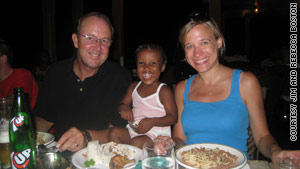 Jim and Rebecca Boston visited their daughter, Farica, in Haiti. They are anxious to bring her home.