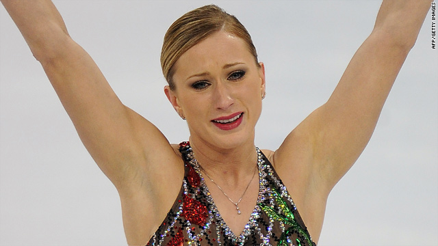 Joannie Rochette performed in the first phase of the Olympic women's figure skating competition two days after her mom died.