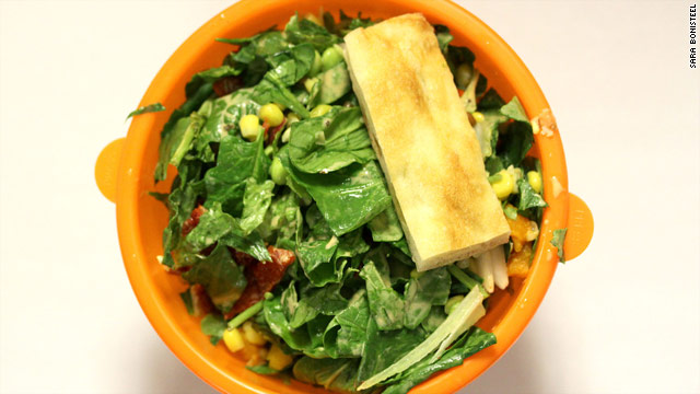Attention, guys: Embrace the salad. It can be your friend.