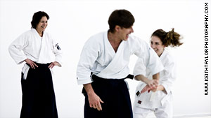 Martial arts teach self-defense, as well as how to deal with daily challenges, according to Bernath.