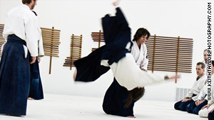 Trusting your partner is a key part of martial arts, Bernath says.