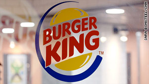 Burger King's breakfast menu competes aggressively with McDonald's.