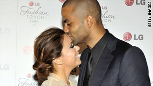Actress Eva Longoria Parker and basketball star Tony Parker were married in 2007.