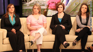 From left to right: Jeanne, Amy, Desiree and Nikki.
