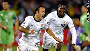 After its dramatic win over Algeria, the U.S. plays Ghana on Saturday in the World Cup.