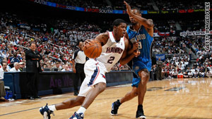 Joe Johnson was offered $124 million to stay with the Atlanta Hawks.