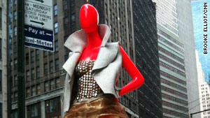 The mannequins have been posted on eBay, with starting bids of $500, with proceeds going to charity.